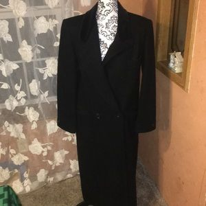 Vintage 100% Wool Trench Coat